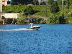 USCG Bayliner Trophy Patrol boat