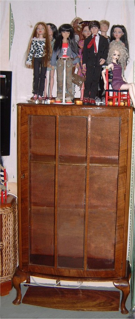 New/Old Cabinet