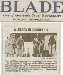 Scanned from the Newspaper (Counselman Collection) Tags: ohio love goodness peace district faith joy christian toledo convention kindness brotherhood congregation patience mcclure humility jehovah witnesses longsuffering selfcontrol counselman mildness