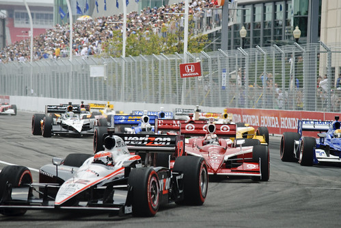 2011 Honda Indy Toronto - THE START!