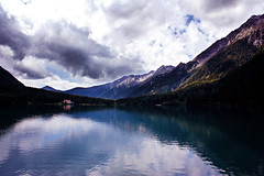 9/100 (AmyJanelle) Tags: summer italy lake reflection landscape scenery europe mountians