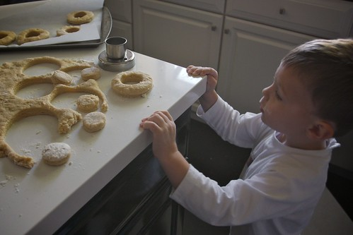 buttermilk donut making