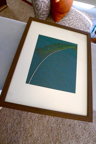 Feather Framed
