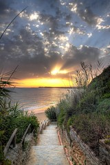 Stairway to heaven? (Retriever72) Tags: sunset s