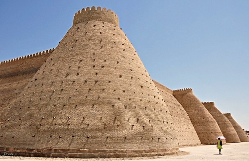 fortaleza ark - bujara - (bukhara) UZBEKISTAN