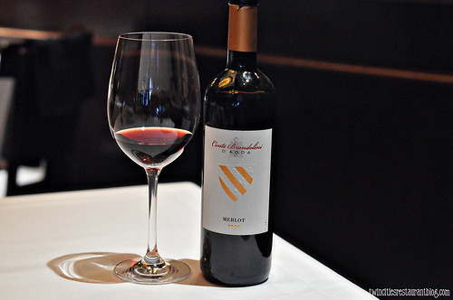 Conte Brandolini Merlot at the The Capital Grille ~ Minneapolis, MN