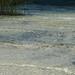 A água é filtrada pela areia
