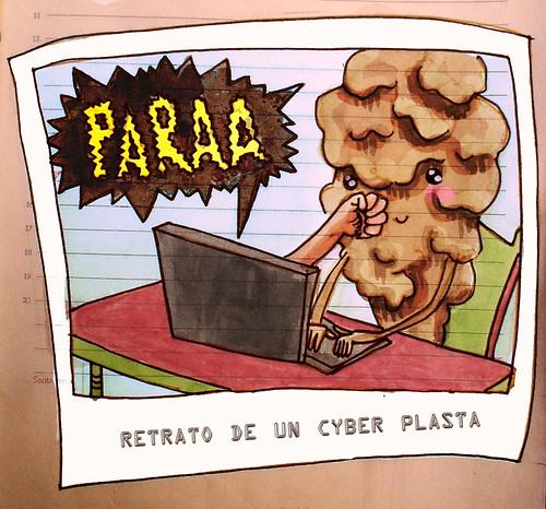 retrato de un cyber plasta by gemma_granados