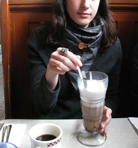 Egg Cream Soda