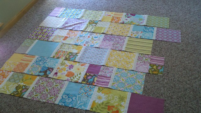 Quilt Top under construction