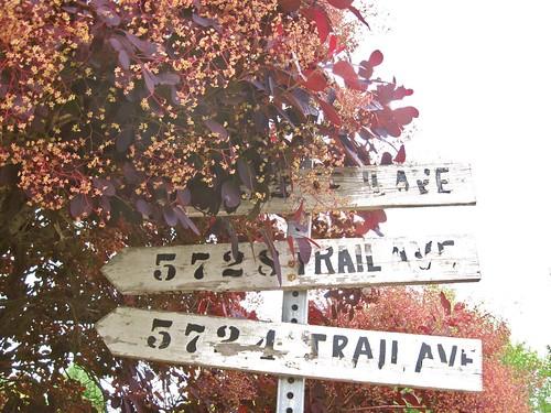 Old Signage, Sechelt BC