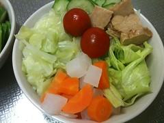 朝食サラダ(2011/7/15)