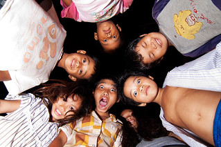 Kids in Kampong Thom
