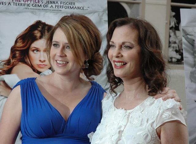 Jenna Fischer and Lesley Ann Warren,A Little Help Premiere, Sony Studios Culver City