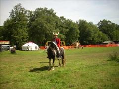 Satyadarshin on his horse 2