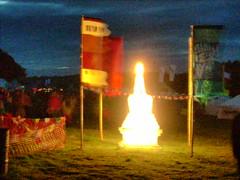 Stupa at night 7