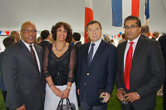 Bastille Day in Ottawa, 2011 (009) (Bruce MacRae) Tags: high republic african south poland ambassador commission zambia commissioner bastilleday nevers macrae habiba zenon mumba anesh embassyoffrance chakir maistry kosiniakkamysz