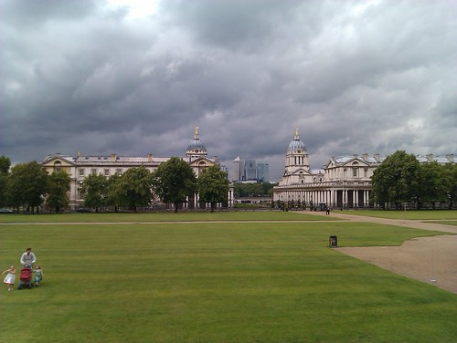 A view on Old Royal Naval College