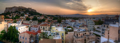 (Aaron_S.) Tags: old city panorama greek ancient europe athens panoramic greece acropolis hdr highdynamicrange