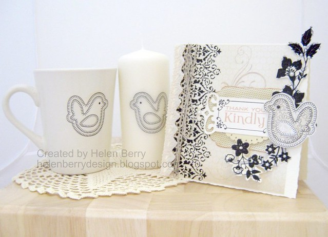 Bird Card, Candle & Mug WMSC56