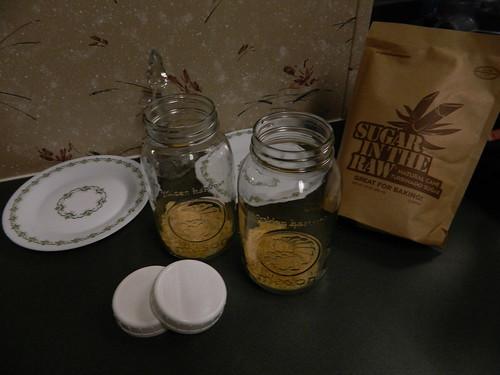 Sugar in the jars