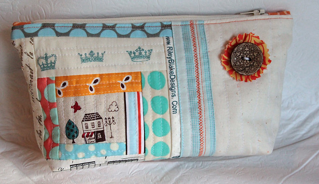 Pretty little pouch option 2 - side 2