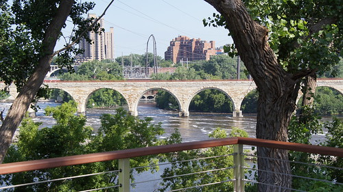 35W Bridge Memorial Construction Update for July 19, 2011
