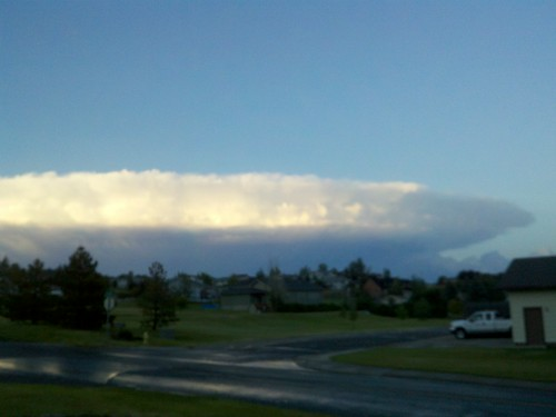 Storm Cloud NE of Great Falls