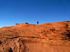 Solitario (grace.aries) Tags: arizona usa america rocks desert lonely lower navajo rocce solitario redearth deserto antelopecanyon statiuniti terrarossa