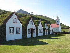 Laufás í Eyjafirði. Safn / Museum. (HelgaB) Tags: museum iceland ísland kirkja safn laufás burstabær torfbær helgab