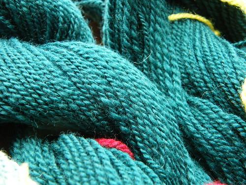Green Merino - Close-up