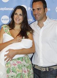 Nuria Fergó con su hija Martina