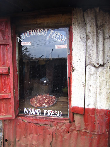 Kibera: Butcher Shop