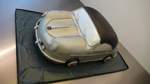 PORCHE Birthday Cake by CAKE Amsterdam - Cakes by ZOBOT