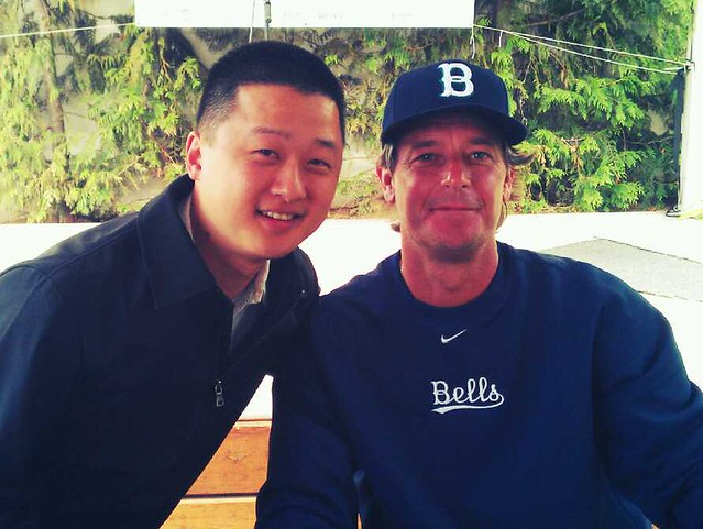 With JAMIE MOYER.
