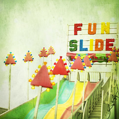 Fun Slide [explored} (red_dotdesign) Tags: amusementpark hss