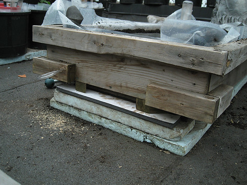 SIP-Raised Beds, levelling bed