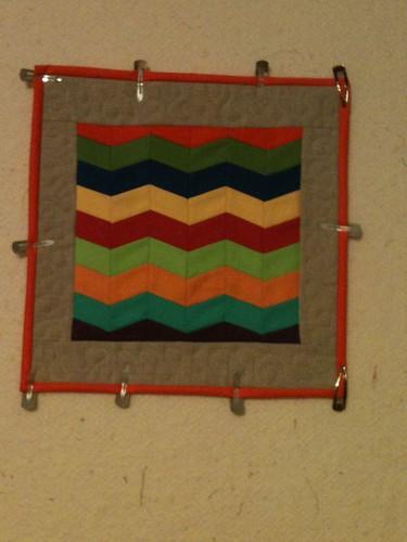 Mini quilt by scruffycat1970