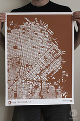 CityFabric San Francisco Print