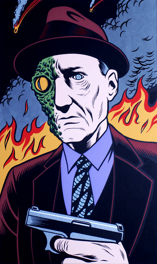 Charles Burns - 23 (William S. Burroughs)