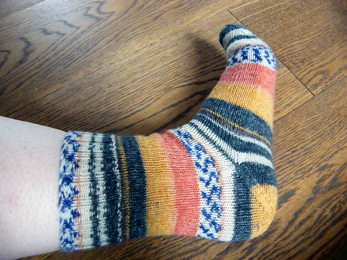 Afterthought Heel Experiment Sock