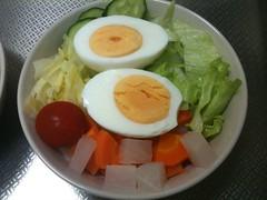 朝食サラダ(2011/7/26)