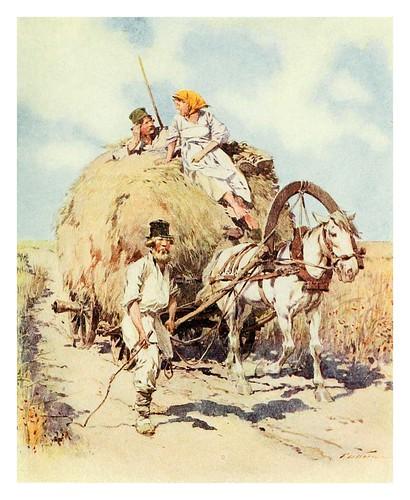 020-Un dia de verano en el campo ruso- Provincial Russia-1913- F. de Haenen