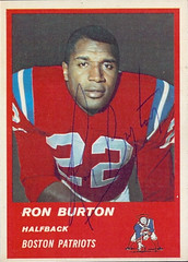 1963 Fleer - 03 - Ron Burton
