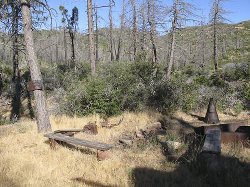Mission Pine Basin camp