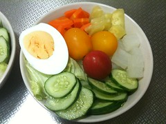 朝食サラダ(2011/7/27)