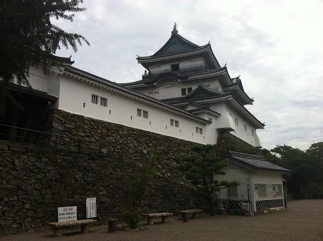 和歌山城天守閣の写真