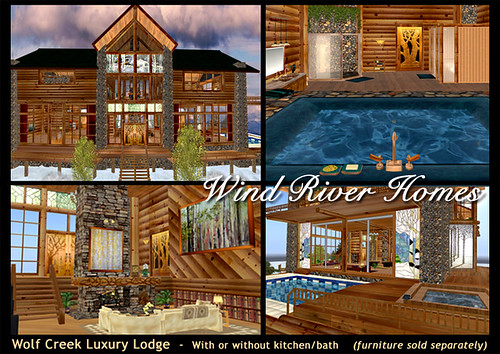 Wolf Creek Luxury Lodge from Wind River Homes by Teal Freenote