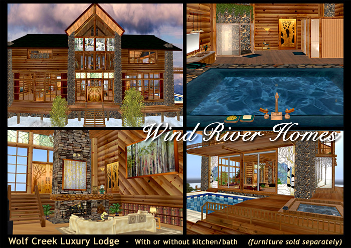 Wolf Creek Luxury Lodge from Wind River Homes