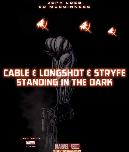 Cable announcement teaser from SDCC